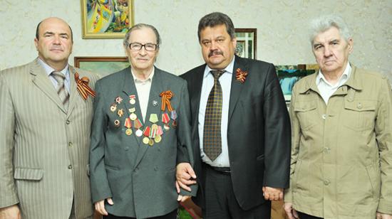 Руководители Союза журналистов Липецкой области навестили Анатолия Баюканского