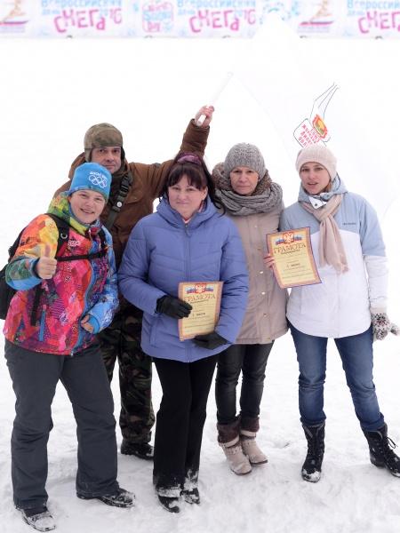 В Липецке журналисты устроили зимние забавы