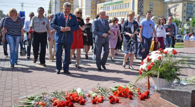 Акция «Мы помним!» прошла в Липецке