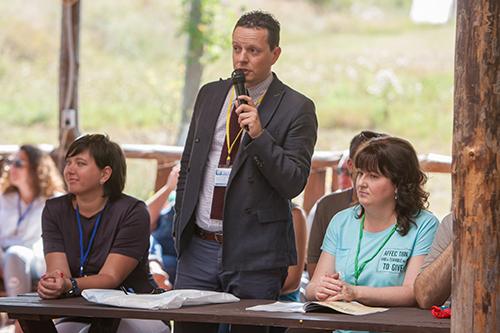 Мастер-класс журналистов в «Ставке Тамерлана»