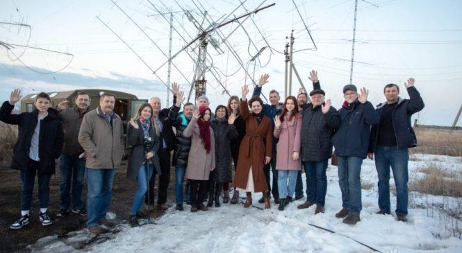 Журналисты Издательского дома «Липецкая газета» совместно с липецкими радиолюбителями провели прямой сеанс связи с МКС